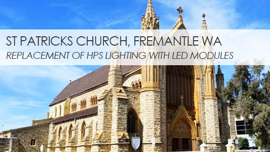 St Patricks LED Lighting