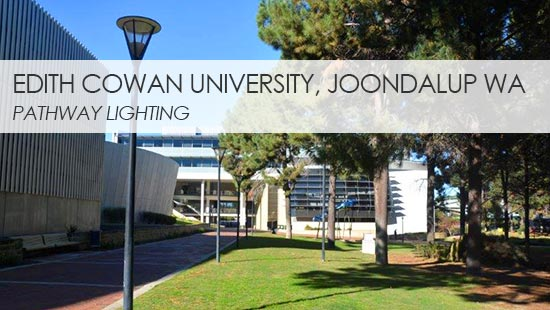 ECU Joondalup Path Lighting